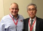Tony Manos and Hiromitsu Hayashida