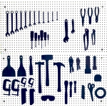 Tool Tracer Tool Shadows 50 piece